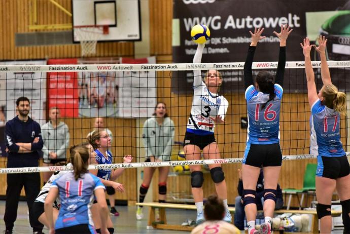 Vorzeitiges Weihnachtsgeschenk für Regionalliga-Volleyballerinnen